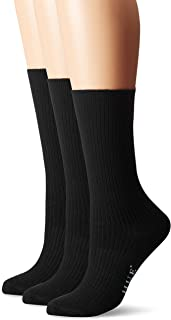 Women's Relaxed Top Crew Sock (Pack of 3)