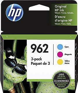 HP 962 Cyan, Magenta & Yellow Original Ink, 3 Cartridges (3YP00AN)