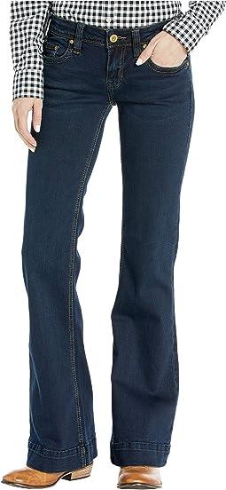 Trousers in Dark Vintage W8-4138