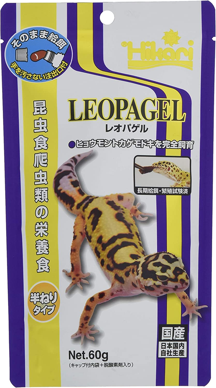 Kyorin Hikari LEOPAGEL (for Reptiles eating insects) [60g] (Japan Import)