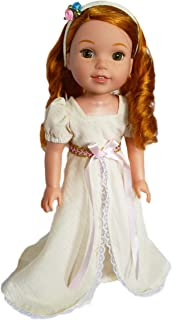 Brittany`s My Victorian Ivory Dress with Headband Compatible with Wellie Wisher Dolls