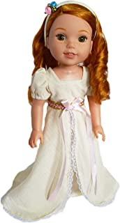 Brittany's My Victorian Ivory Dress with Headband Compatible with Wellie Wisher Dolls