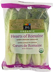 365 Everyday Value, Organic Hearts of Romaine, 3 ct