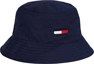 Tommy Jeans TJW Flag Bucket Hat Cappello, Twilight Navy, Taglia Unica Donna
