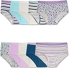 Fruit of the Loom Girls` Cotton Brief Underwear
