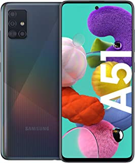 Samsung Galaxy A51 Smartphone Bundle (16,4 cm (6,5 tum)) 128 GB internminne, 4 GB RAM, Dual SIM, Android inkl. 30 månaders...