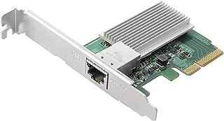 Edimax EN-9320TX-E, 10 Gigabit Ethernet PCI Express Server Adapter, PCI Express Rev. 2.0 Specification X4 Interface, 10 Gigabit Throughput