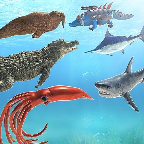 Sea Animal Kingdom: War Simulator