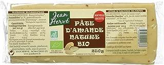 Jean Hervé Pâte d'Amande Bio Nature 250 g - Lot de 3