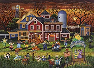 Dowdle Jigsaw Puzzle - Scarecrow Festival - 100 Piece