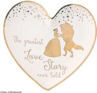 Enchanting Disney Belle Wedding Ring Dish