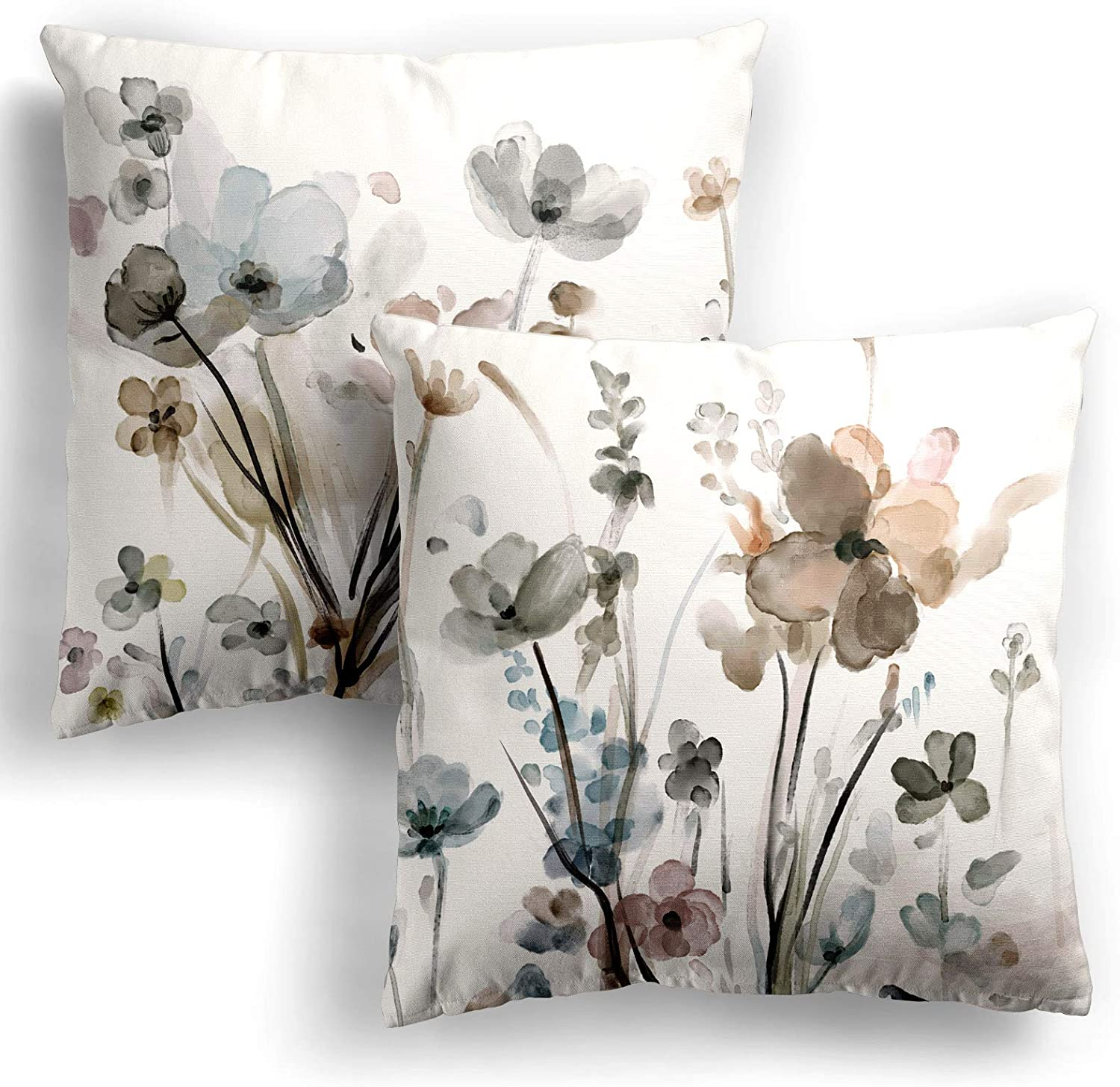 Wholesale Flower Throw Pillow Covers 20x20 Set 2 C Cozy Mail order Flowers of