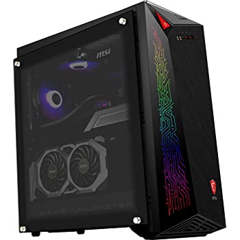 MSI MEG Infinite X 10SD-691EU Ordenador de sobremesa Gaming, Intel Core i7-10700KF, 16 GB RAM, 1 TB HDD y 1 TB SSD, NVIDIA GeForce RTX 2070 Super VENTUS GP OC, RGB Mystic Light, Windows 10 Home, Negro