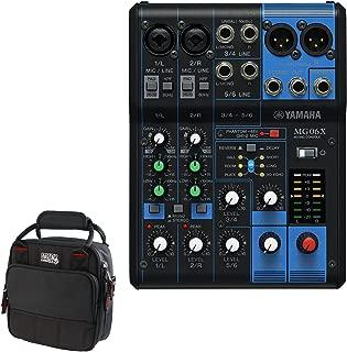 Yamaha MG06X Mixer + FREE GATOR Travel Bag Carry Case