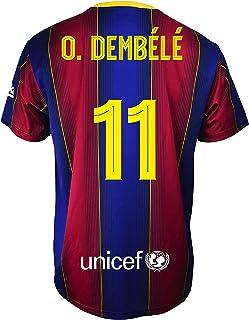 Amazon.es: camiseta barcelona dembele