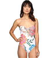 Mara Hoffman - Arcadia Lace Front One-Piece