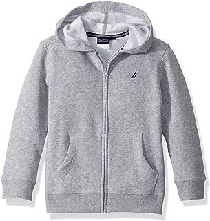 Boys' School Uniform Polar Fleece Zip-up Hoodie