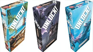 Unlock! The House on the Hill, The Nautilus' Traps, The Tonipal`s Treasure Card Game Set