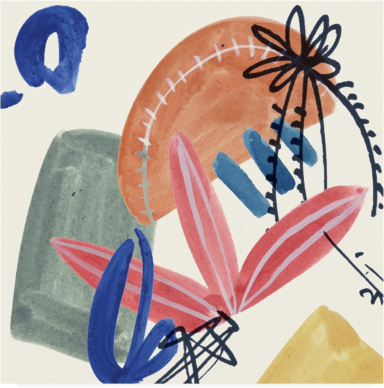 Trademark Fine Art Sunburst Abstract IV by Melissa Wang, 14x14