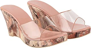 Do Bhai Casual/Party/Daily/Outdoor/Wedding/Office/Spacial Needs Wedges Heels Fashion Sandals For Womens
