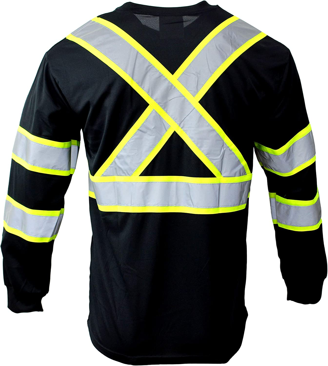 RK BFL-T5713 High-Visibility Free Shipping Cheap Bargain Gift Class3 with Wickin Moisture T-Shirt Spring new work one after another