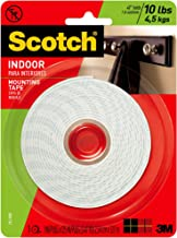3m Scotch 3.17m Double side Indoor Mounting Tape 10lb- 1 inch