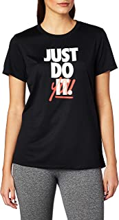 En general regla polvo  Amazon.es: camisetas nike mujer - Camisetas y camisas deportivas / Ropa  deportiva: Ropa