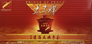 Prince of Peace Instant American Ginseng Tea 100 Tea Bags
