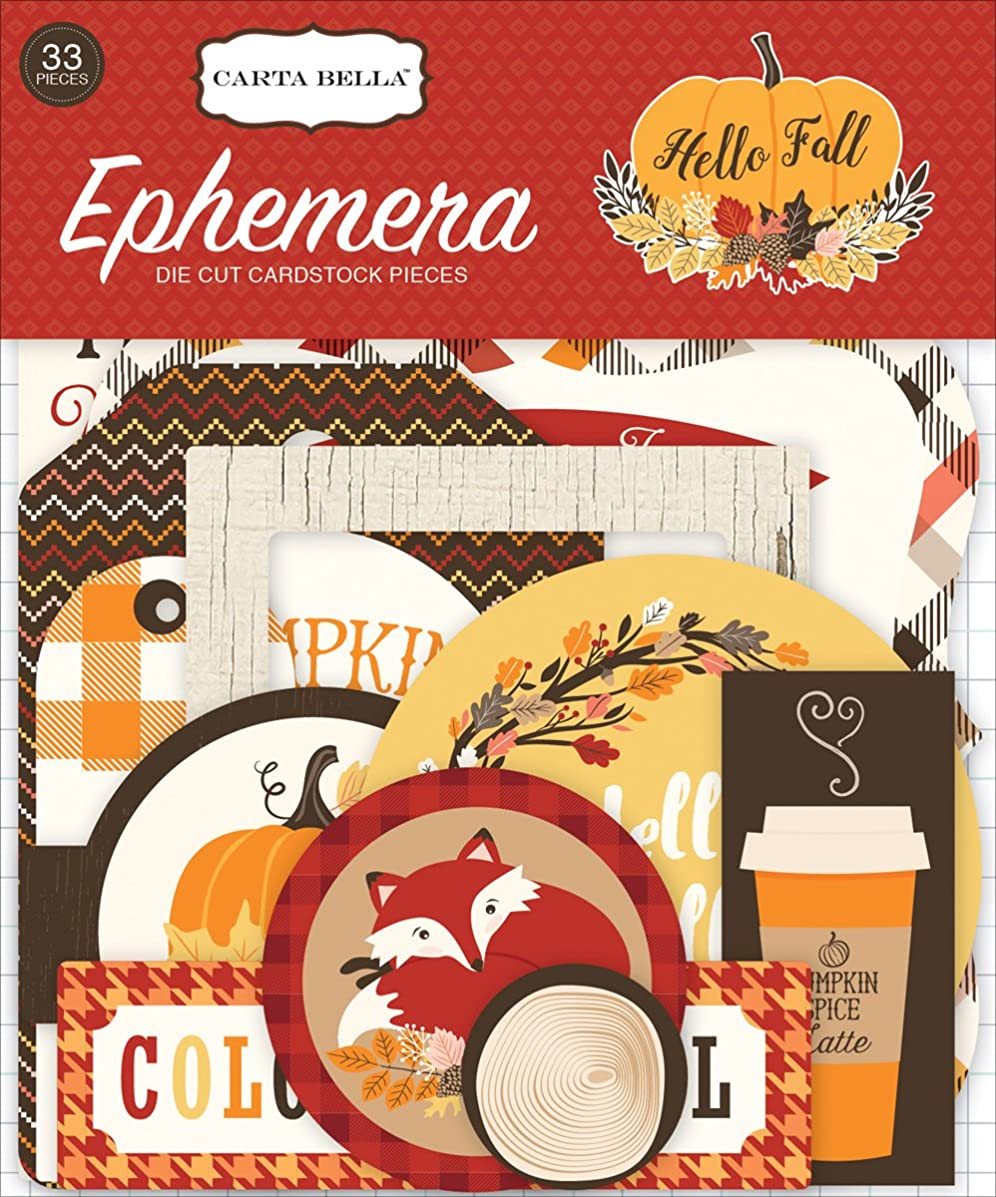 Carta Bella Paper Company CBHF70024 Hello Fall Ephemera