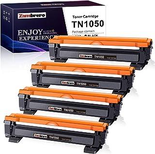 Zambrero Compatibile Toner TN1050 Sostituzione per Brother TN-1050 TN1050 Cartuccia Toner per Brother DCP-1612W DCP-1512 D...