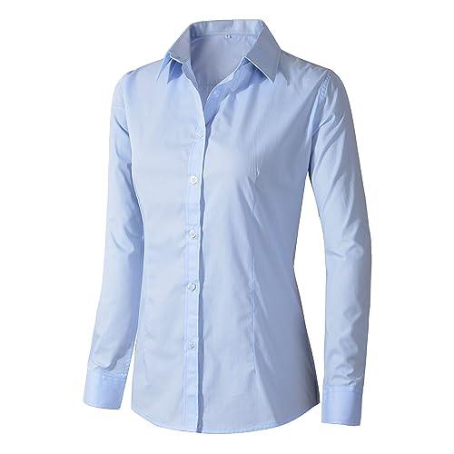 793100302fe Women s Formal Work Wear White Simple Shirt
