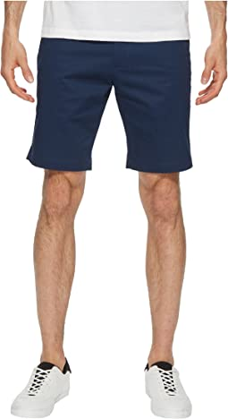 Flat Front Stretch Walking Shorts