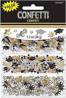 Amscan Grad Value Confetti | Party Favor | 12 pieces