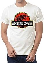 Game Of Thrones Juego de Tronos se Acerca el Invierno Jurasic Parque para Hombre T-Shirt