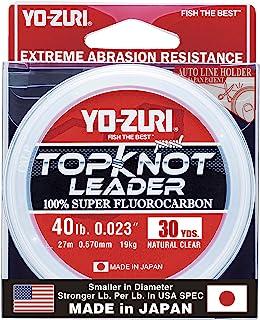 Yo-Zuri Topknot 30 yd Sinking Leader, Natural Clear, 40 lb