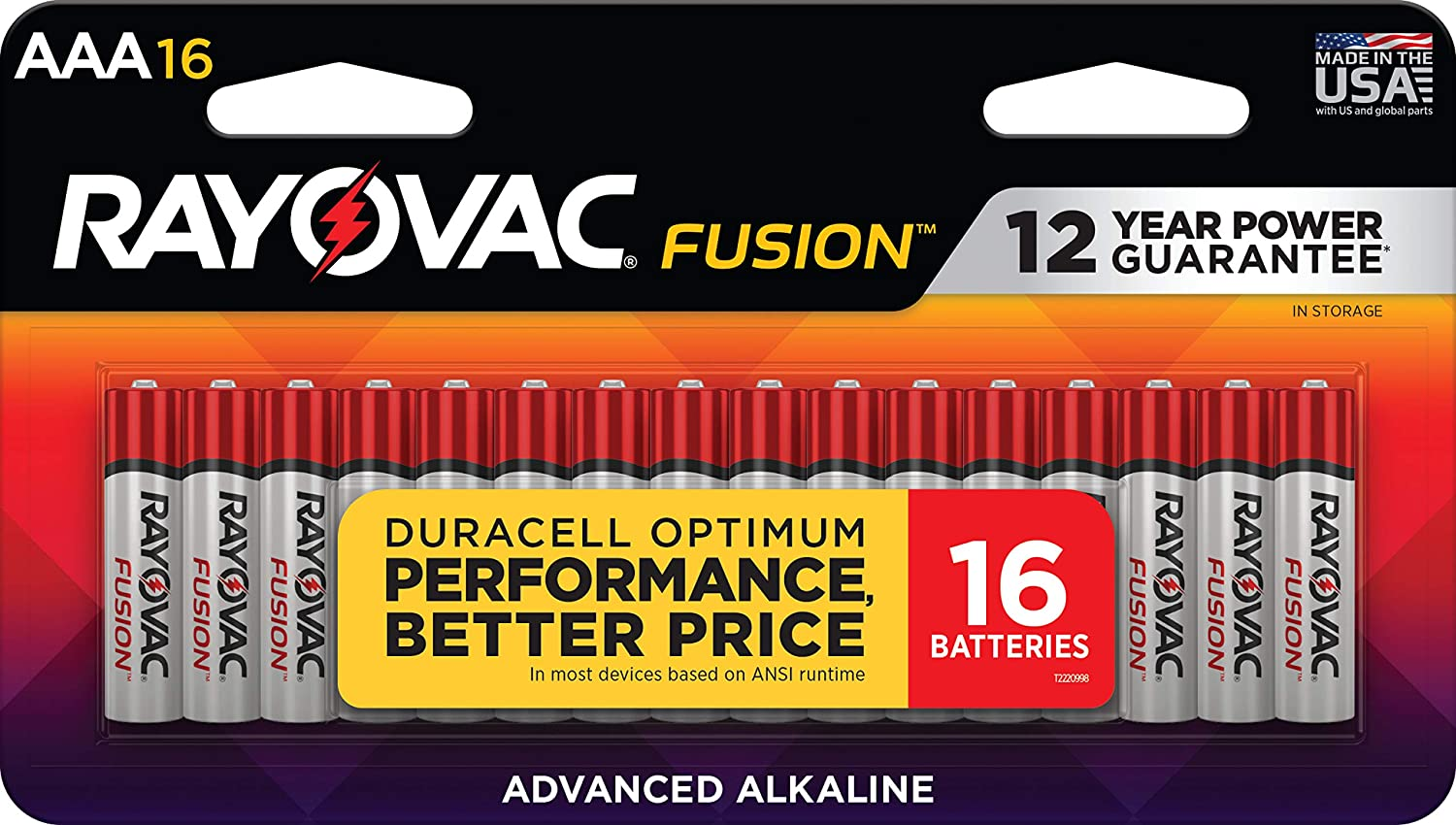 Rayovac Fusion AAA Batteries National uniform free shipping Premium A Challenge the lowest price of Japan ☆ Triple Batterie Alkaline