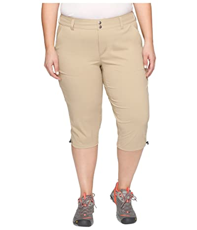 Columbia Plus Size Saturday Trailtm II Knee Pant (British Tan) Women