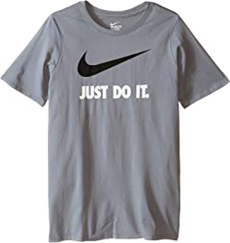 Nike Kids JDI Swoosh Tee (Little Kids/Big Kids)