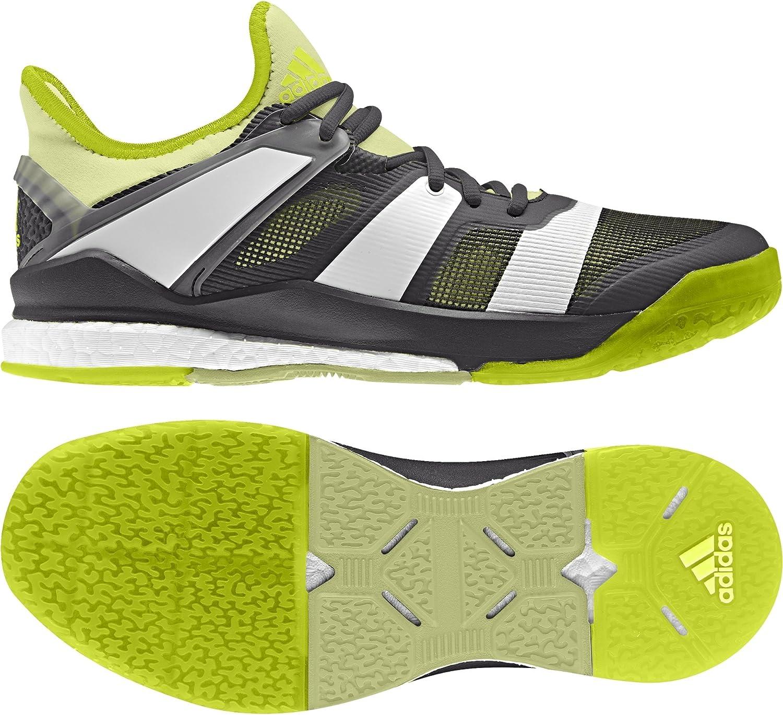 Adidas Damen Stabil X W Handballschuhe, Schwarz, 50.7 EU