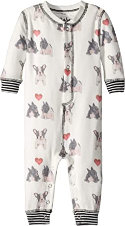 Dogs Hearts Romper (Infant)