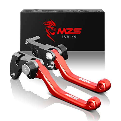 MZS Pivot Levers Brake Clutch CNC for Honda CR80R CR85R 1998-2007/ CR125R CR250R