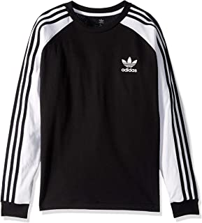 Boys' Big 3-Stripes Long Sleeve Tee