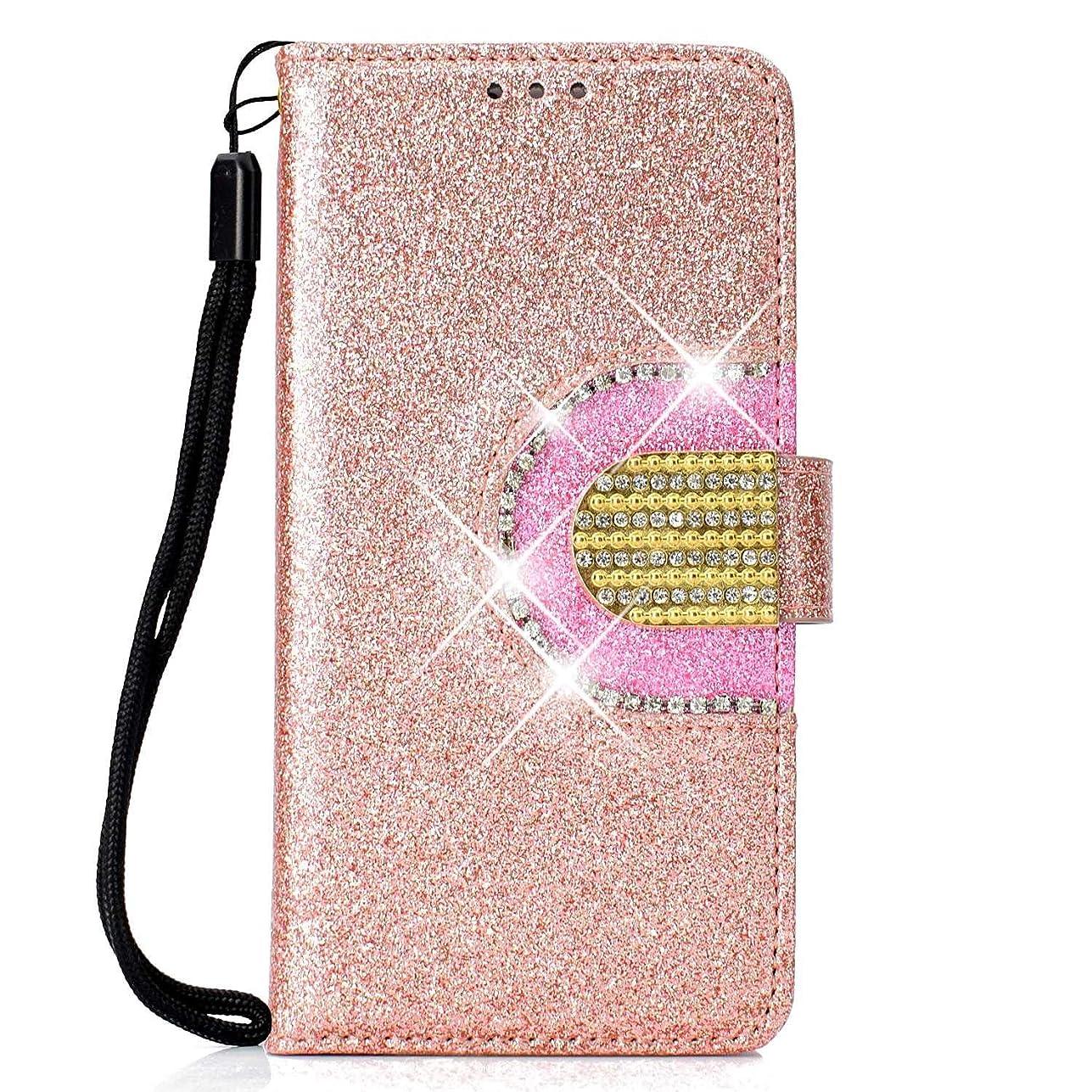 平均前デュアルHuawei Mate 10 Pro ケース Zeebox? 高級PUレザー 薄型 簡約風 人気 手帳型 カバー Huawei Mate 10 Pro 全面保護 スタンド機能 カード収納 耐汚れ 耐衝撃 カバー, ローズゴールド