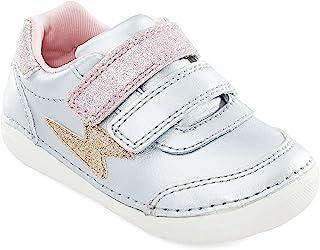 حذاء رياضي بناتي متعدد اللون من Stride Rite Bg018003-Soft Motion Kennedy-silver