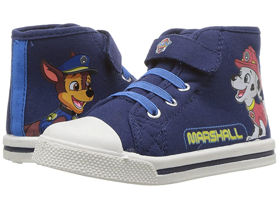 Josmo Kids Paw Patrol High Top Sneaker (Toddler/Little Kid) (Navy) Boy
