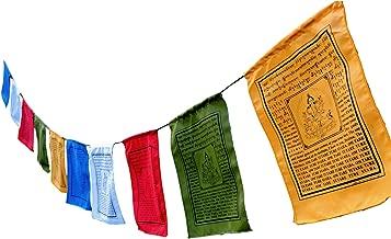 Handmade Green Tara Tibetan Prayer Flags with English Translation (9