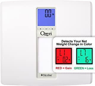 Ozeri ZB20 WeightMaster II 440 lbs Digital Bath Scale with BMI and Weight Change Detection, White