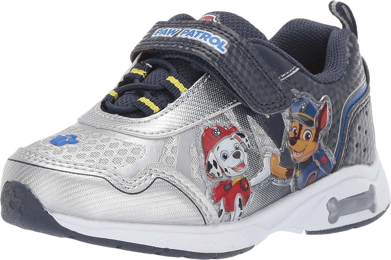 Josmo Boys Paw Patrol Lightweight Sneaker with Easy Strap Closure