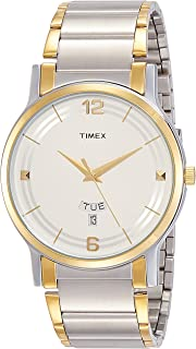 Timex Classics Analog Silver Dial Men's Watch - TW000R424