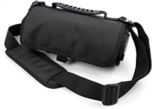 DURAGADGET Action Camera + Accessory Carry Case with Shoulder/Waist Strap and Hanging Hook - Compatible with Homkm Q3H+